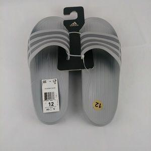 ADIDAS New Original Mens DURAMO SLIDE Sandals Gray
